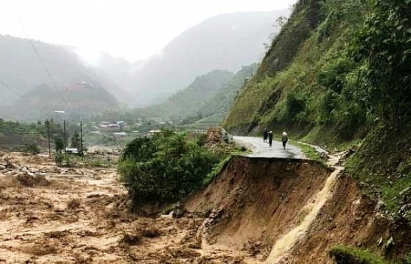 Anh minh hoa Xây dựng bộ tiêu chuẩn cơ sở về  đánh giá rủi ro trượt đất