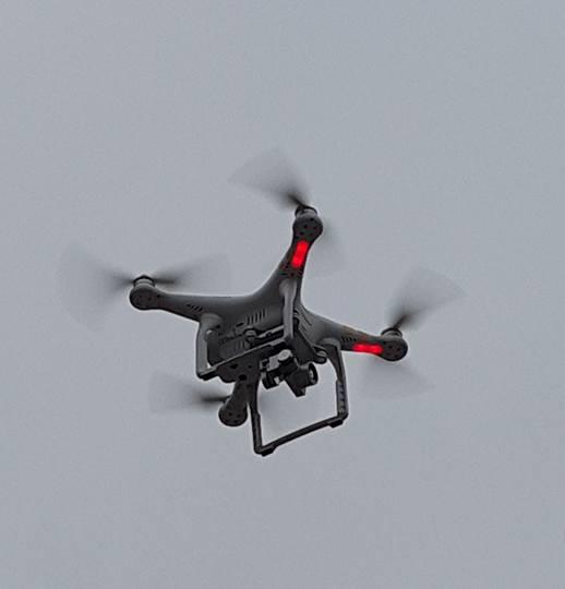 Anh minh hoa Khảo sát trượt đất bằng thiết bị UAV