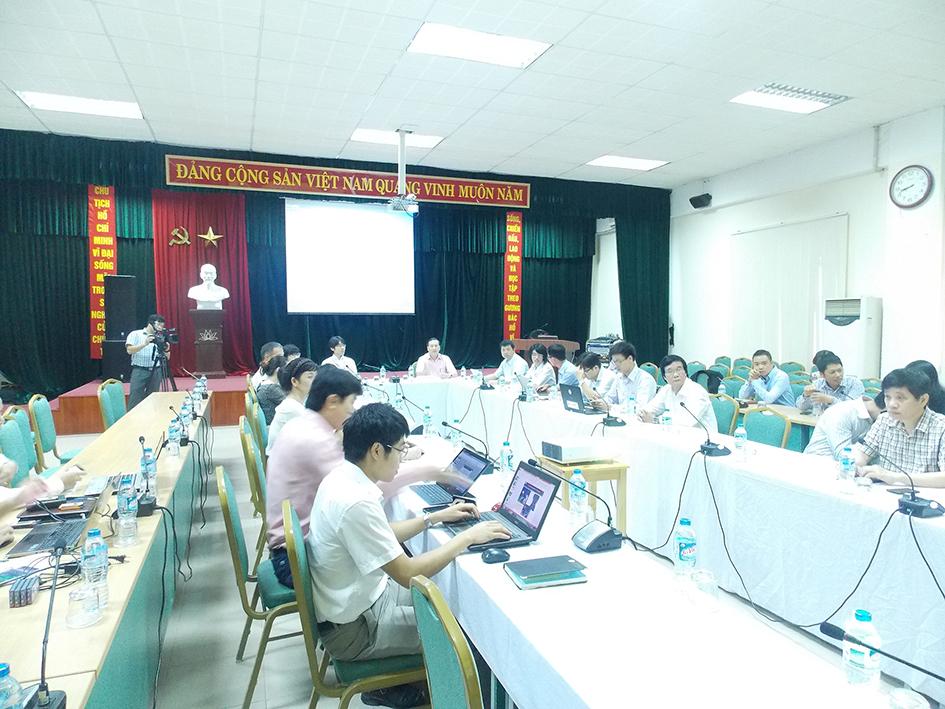 Anh minh hoa Hội thảo Báo cáo kết quả nghiên cứu và học tập của các thành viên trong Dự án hợp tác kỹ thuật do JICA tài trợ về Phát triển công nghệ đánh giá rủi ro trượt đất dọc các tuyến giao thông chính tại Việt Nam