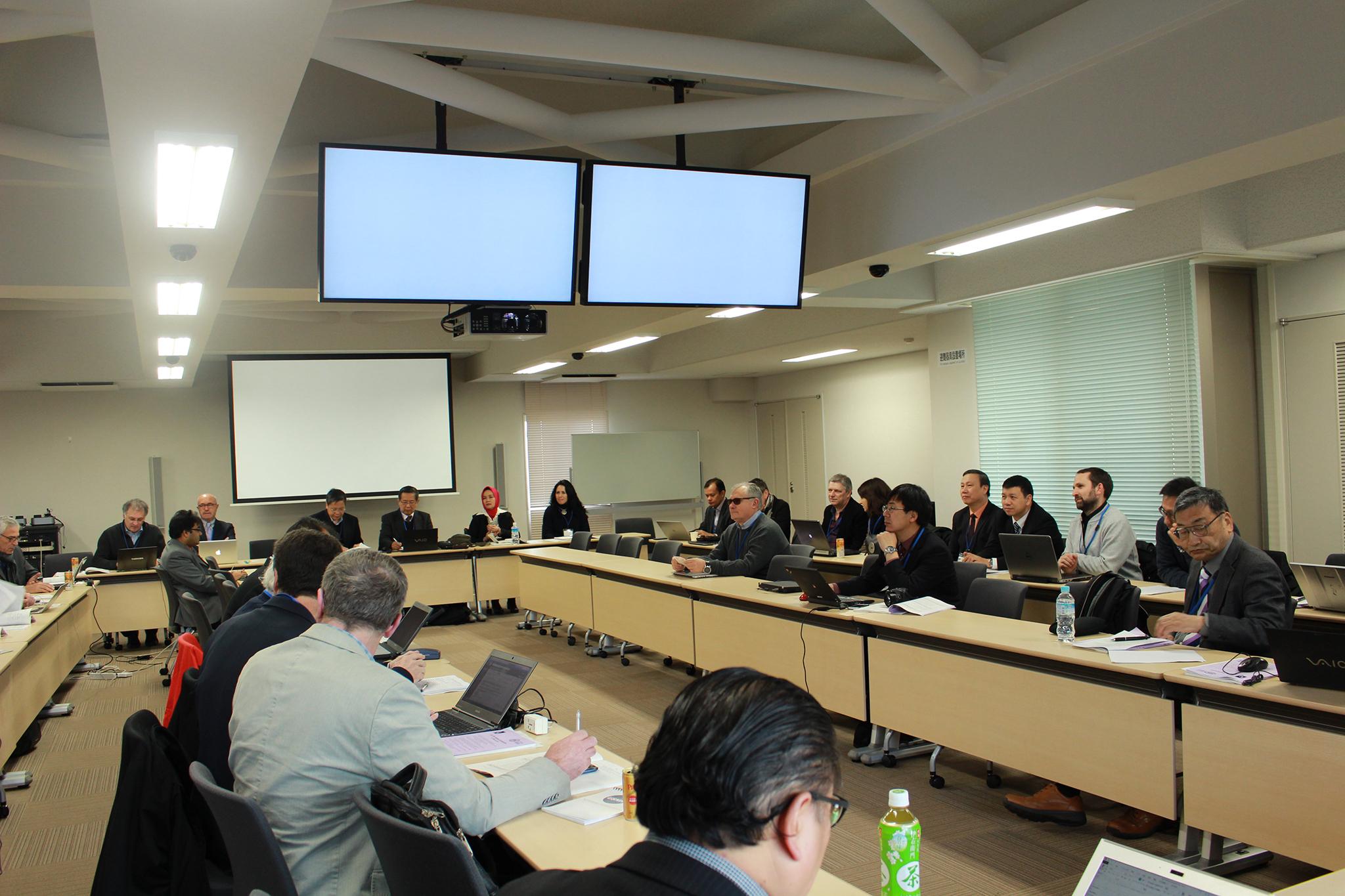 Anh minh hoa Tham dự Hội nghị Kyoto, họp Ban điều hành Hội trượt đất quốc tế (ICL) lần thứ 15  và họp Ủy ban vận động toàn cầu (IPL-GPC) lần thứ 11 tại Nhật Bản